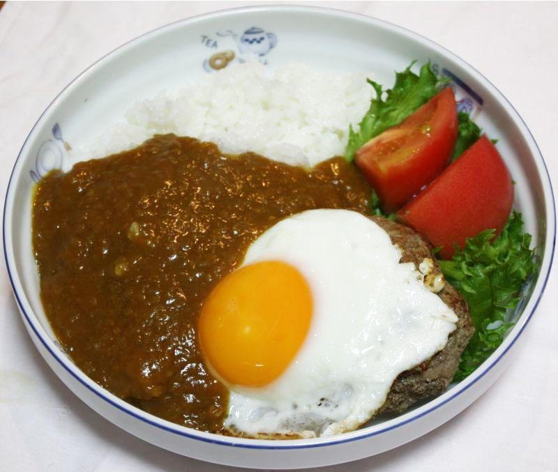 ロコモコ風カレーはいかが!?